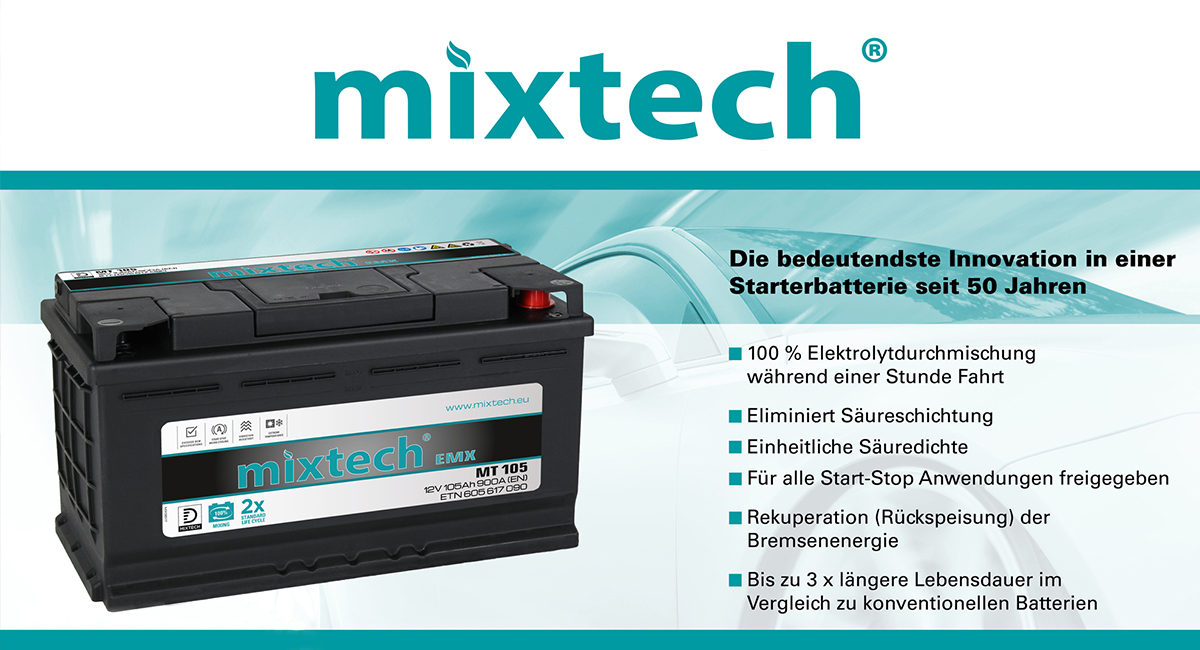 Mixtech-Batterien